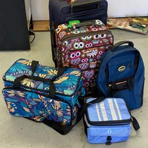 Lot # 287 - Travel gear, 6 pieces