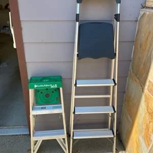 Lot # 297 - Ladders
