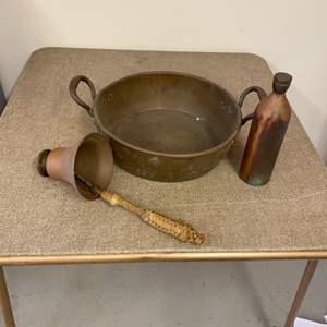 Lot # 302 - Vintage copper items