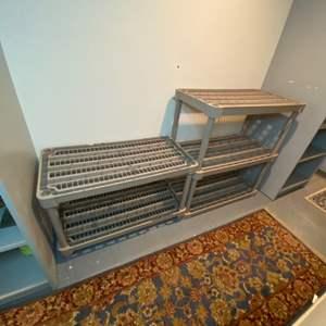 Lot # 322 - Storage racks