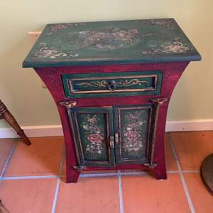 Lot # 335 - Painted cabinet