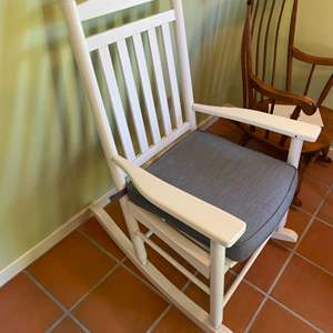 Lot # 338 - Mission style rocking chair