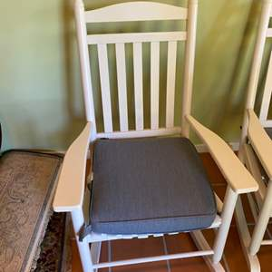 Lot # 339 - Mission style rocking chair