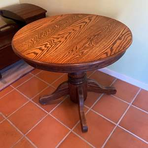 Lot # 340 - Antique round table