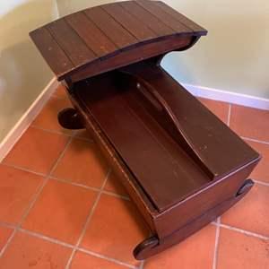 Lot # 342 - Antique cradle