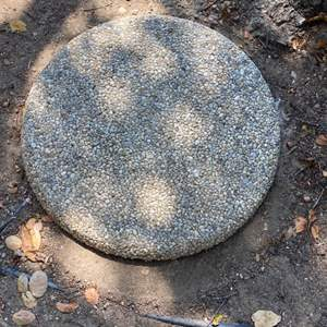 Lot # 350 - Large stepping stone