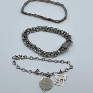 Lot # 6 - Sterling Bracelets (31.0g)
