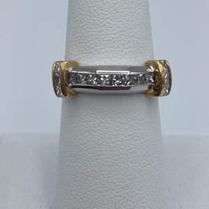 Lot # 21 - .50ctw diamond ring, 14k gold, size 7