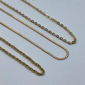 """Lot # 35 - 14k gold necklaces, 16"""" 18"""""""