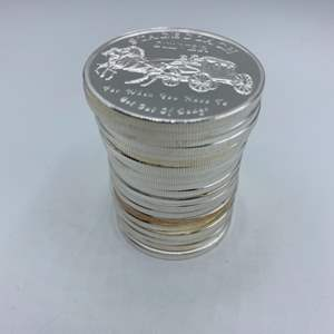 Lot # 68 - 20, Stagecoach .999 silver divisible 1 oz. rounds