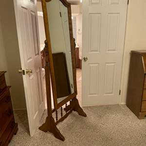 Lot # 5 - Full Length Swivel Mirror
