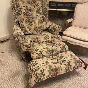 Lot # 24 - Vintage Recliner and Chair