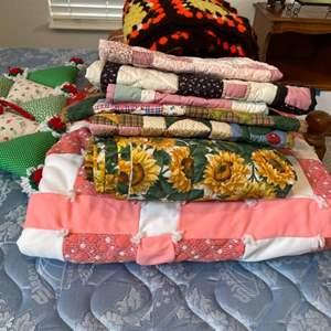 Lot # 35 - Handmade Blankets