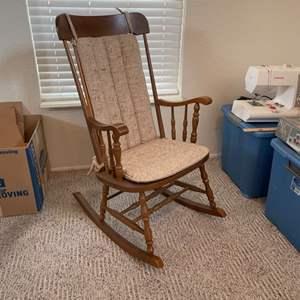 Lot # 47 - Vintage Rocking Chair
