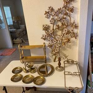 Lot # 61 - Brass Home Decor