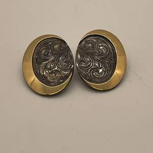Lot # 83 - Sterling Silver Clip On Earrings (total weight 10.54 grams)