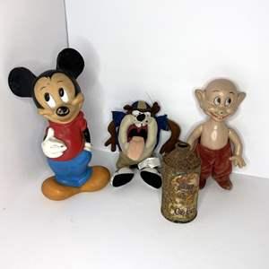 Lot # 2 - 30's Snow White Dwarf Doll Knickerbocker Toy Co Disney & Cartoon Characters