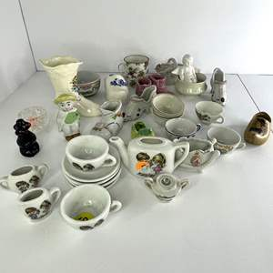 Lot # 5 - Cute Figurines and Children's Tea Sets