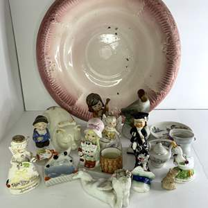 Lot # 6 - Ceramic Figurines and Assorted Items