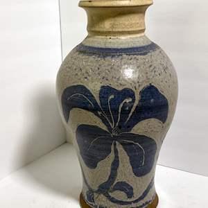 Lot # 26 - Large Stoneware Vase