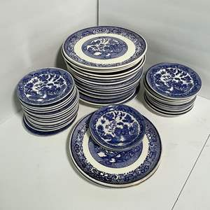 Lot # 29 - Vintage Blue Willow Dishes (Made in Japan)