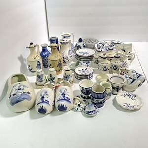 Lot # 31 - Delft Blue Holland Kitchenware