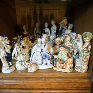 Lot # 47 - Porcelain Figurines