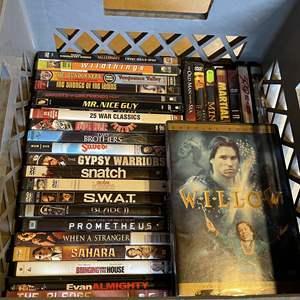Lot # 51 - Box full of DVDs