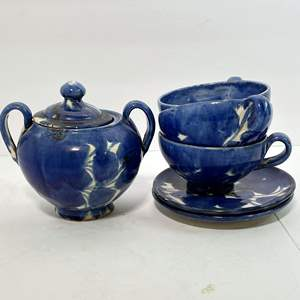 Lot # 53 - Vintage Mexican Pottery Tea Collection