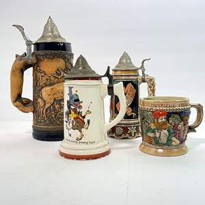 Lot # 56 - German Stein and Japanese Steins (2 Music Boxes)