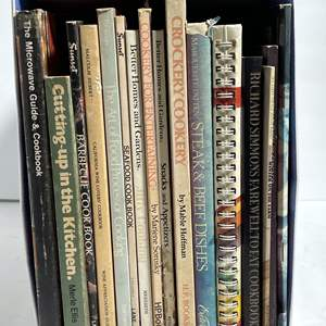 Lot # 69 - Vintage (Sunset & More) Cook Books and Magazines