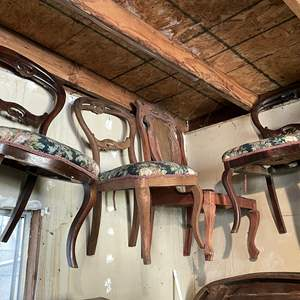 Lot # 99 - (7) Dining Chairs