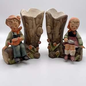 Lot # 103 - Arnart Creations Porcelain Figurines