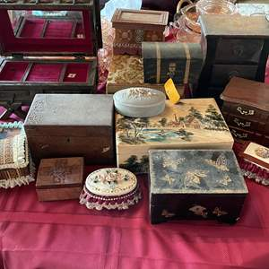 Lot # 120 - Jewelry Boxes, are Music Boxes