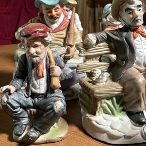 Lot # 125 - Vintage Porcelain Figures Collection