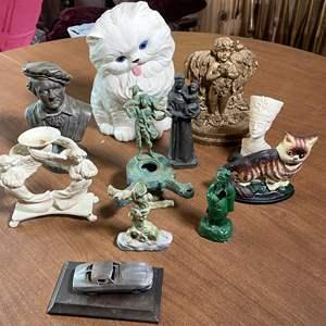 Lot # 130 - Assortment of Statues
