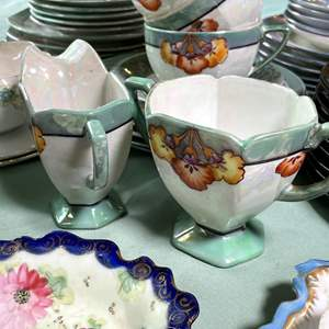 Lot # 133 - Japanese Lusterware and More