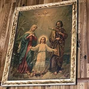 Lot # 142 - Vintage Religious Artwork