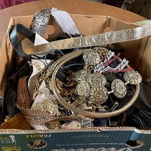Lot # 145 - Vintage and Costume Belts