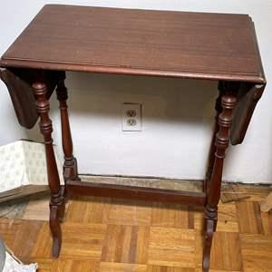 Lot # 159 - Wood Writing Desk/Table