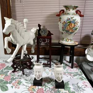 Lot # 163 - Ornate and Vintage Décor Items