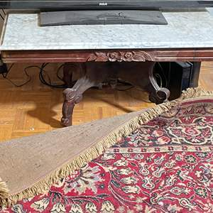 Lot # 166 - Marble Top Table