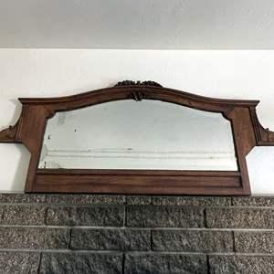 Lot # 172 -  Carved vintage Mirror