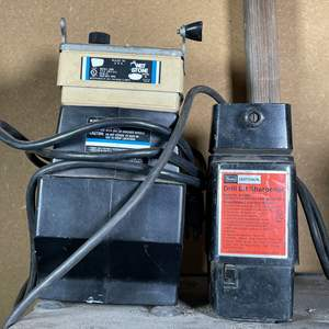 Lot # 206- (2) Electric Drill Bit Sharpeners