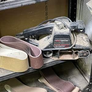 Lot # 209- Craftsman 1/2 HP Belt Sander