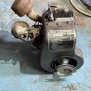 Lot # 228- Vintage Montgomery Ward Gasoline Engine