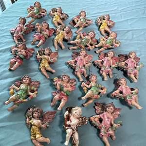 """Lot # 148 - 6"""" Angel Ornaments"""