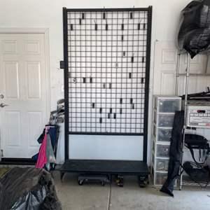 Lot # 19 - Free Standing Wall Rack