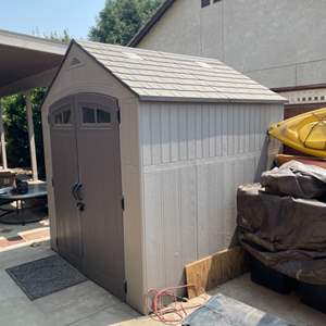Lot # 36 - Craftmens Tool Shed ( Contents not Included )