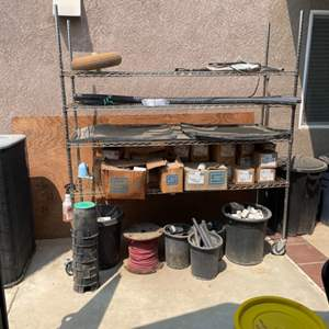 Lot # 50 - Large NSF Storage Rack (contents not included)
